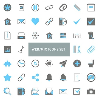 Icon set, web themes