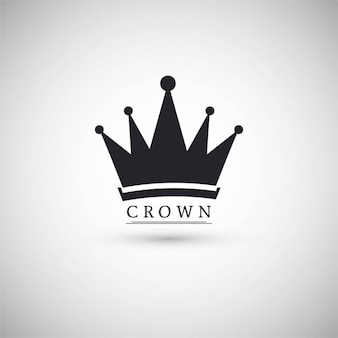Icon with a crown