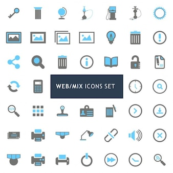 Icons for web spaces