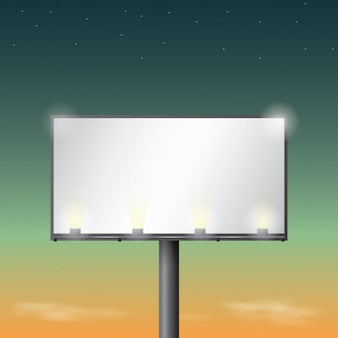 Illuminated billboard design