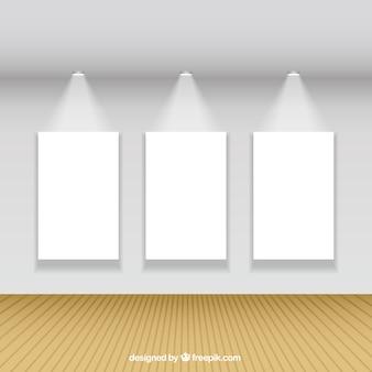 Illuminated canvas