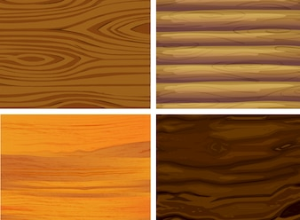 Illustration of wood patterns