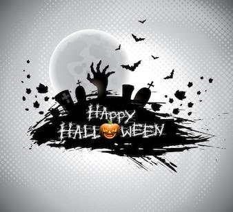 Illustration on a Halloween theme.