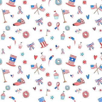 Independence day pattern