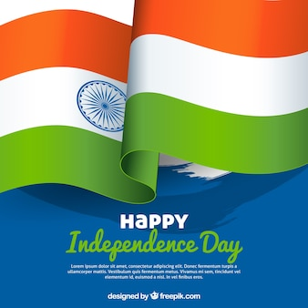 India flag background for independence day