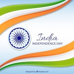 India independence background