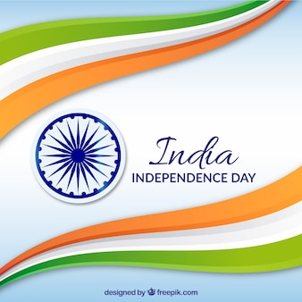 India independence background