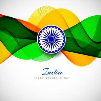 India republic day, abstract background