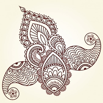 Indian Abstract ornament