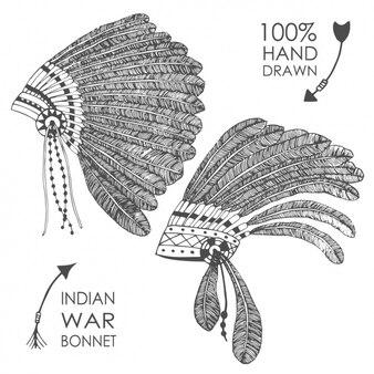 Indian bonnet design