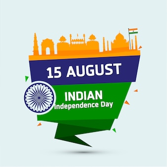 Indian independence label