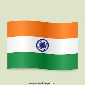 Indian waving flag
