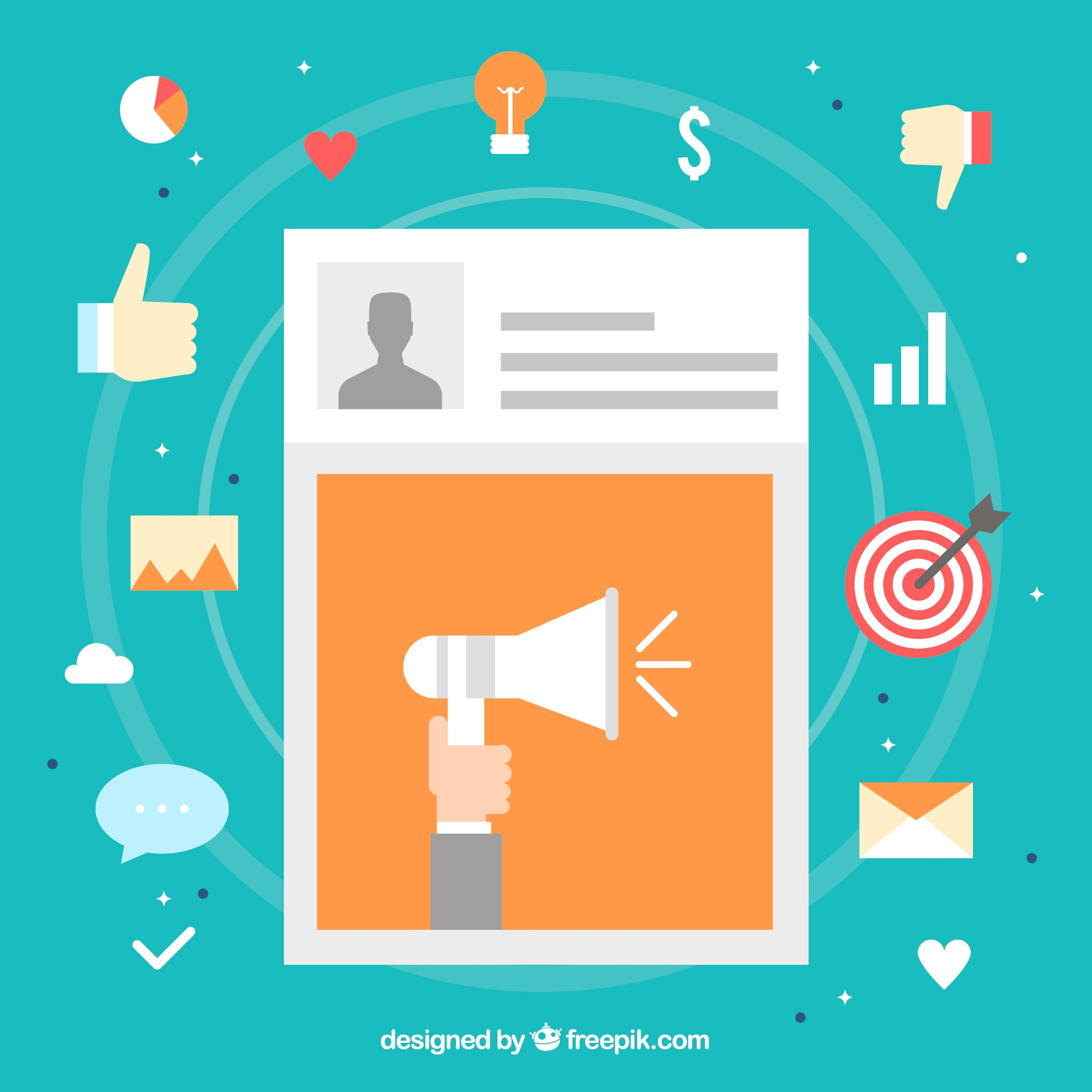 Influence marketing design with post