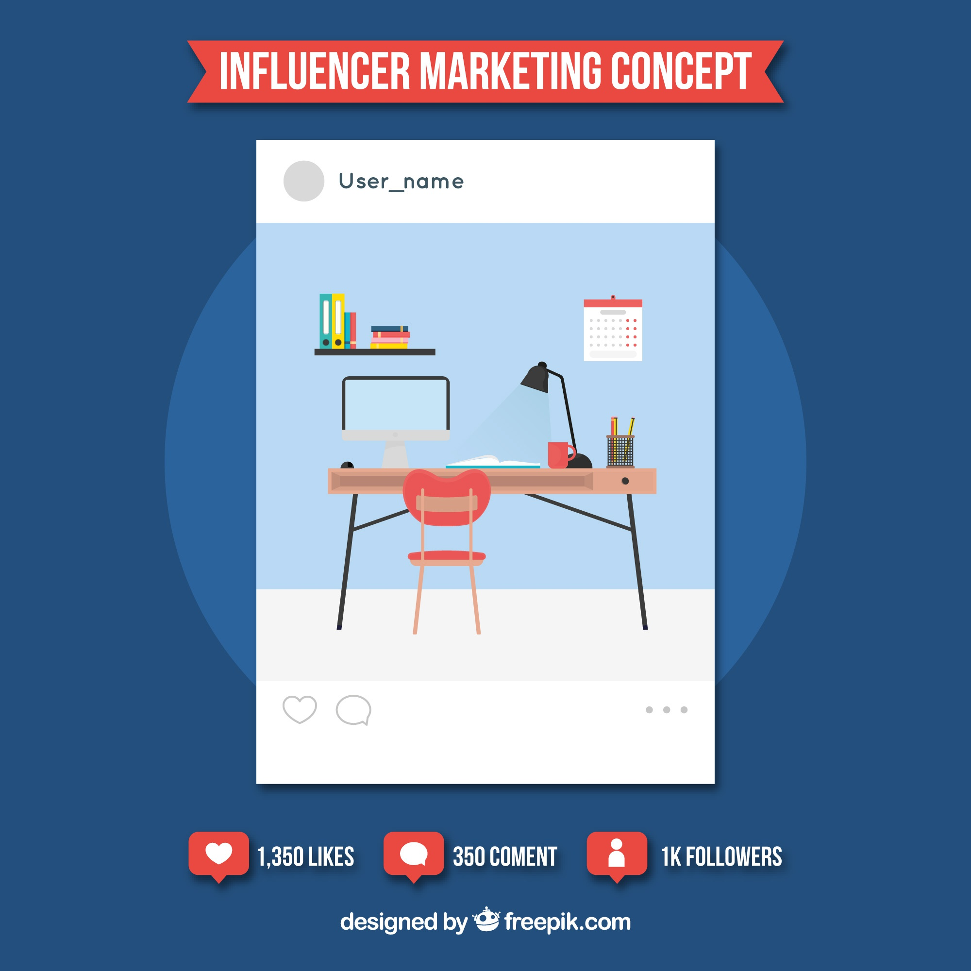 Influence marketing design with workspace