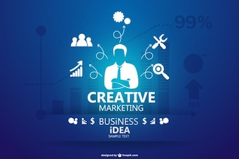 Infograhic business concept