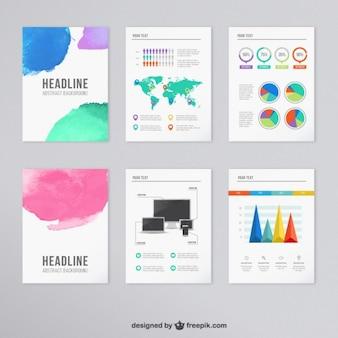インフォグラフィックパンフレット