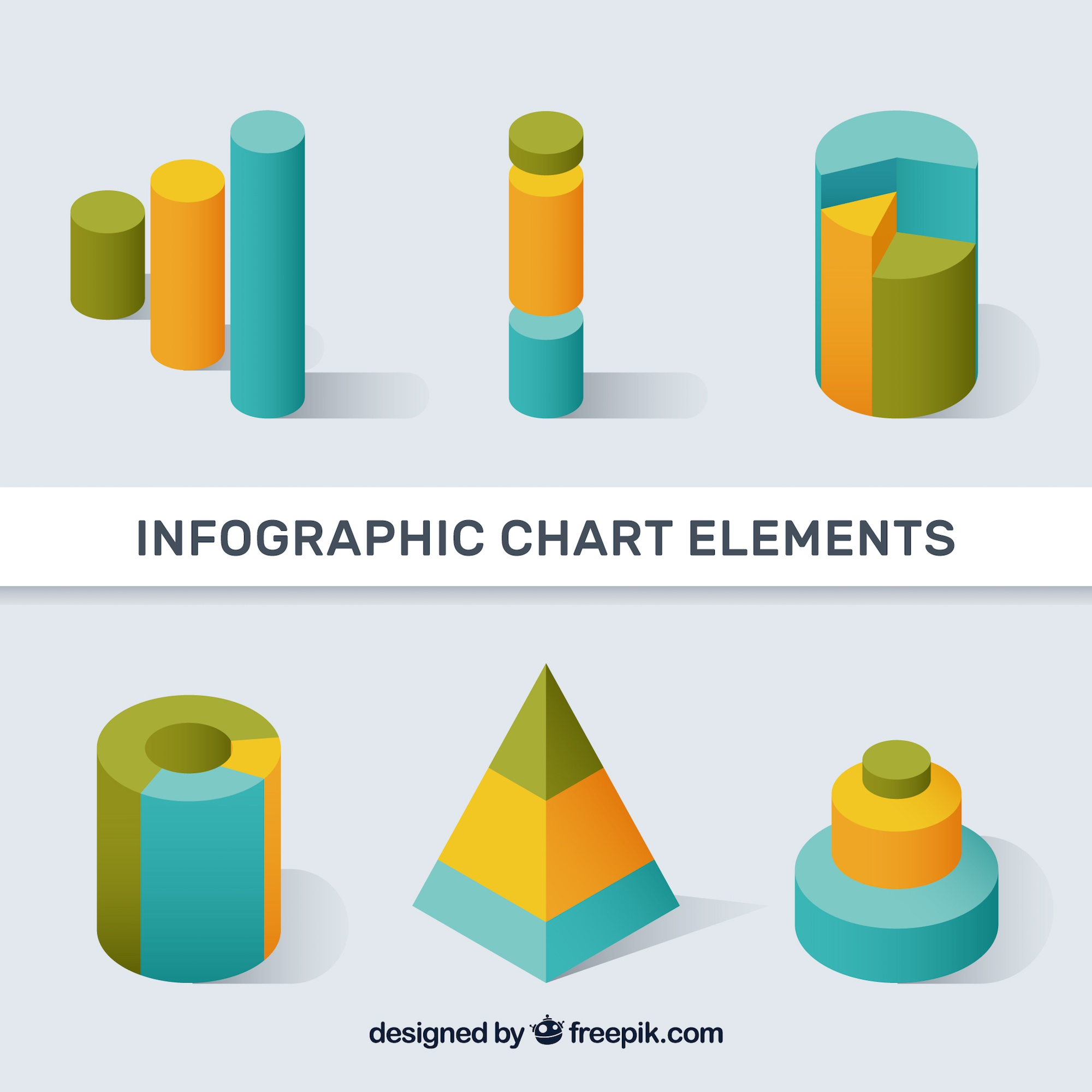 Infographic chart elements
