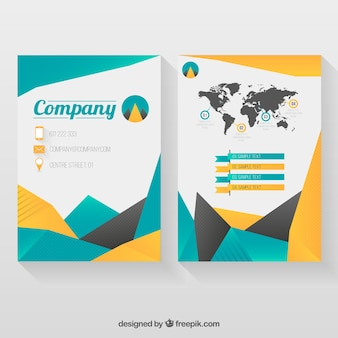 Infographic Company Flyer