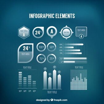 Infographic element set
