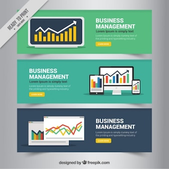 Infographic elements business banners