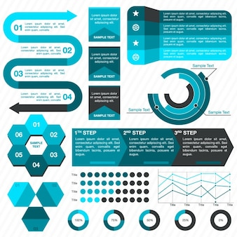 Infographic elements collection