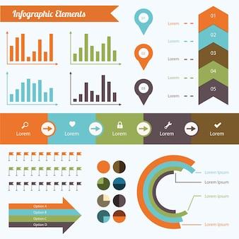 Набор инфографических элементов