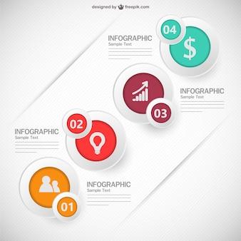 インフォグラフィックの無料イメージデザイン