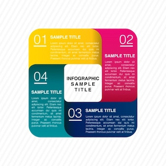 Infographic template design