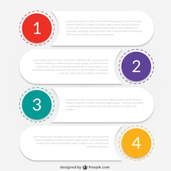 Infographic Steps Vectors, Photos and PSD files | Free Download