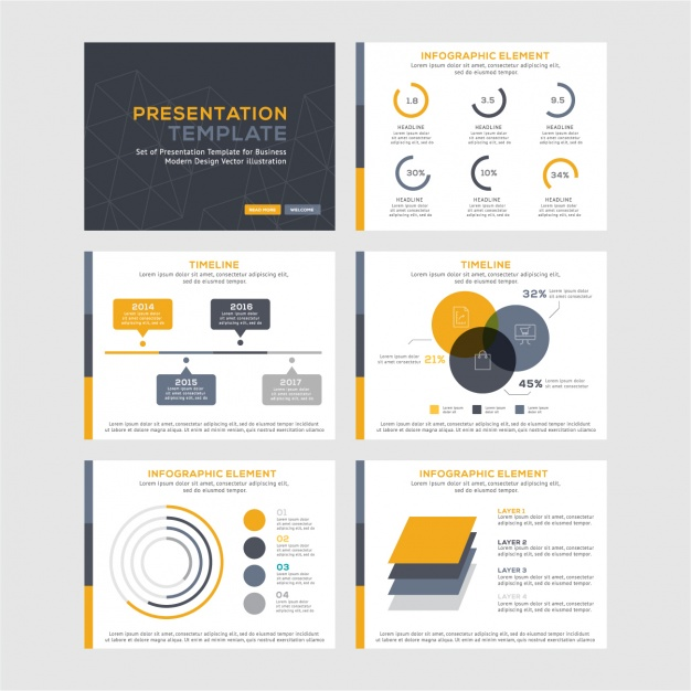 Infographic templates collection