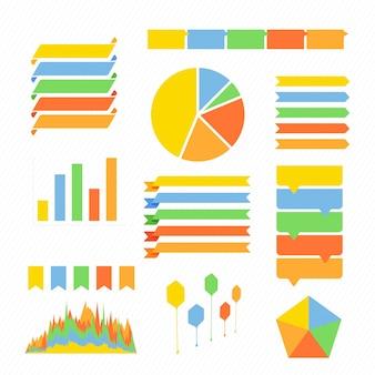 Infographics set. Business Concept.