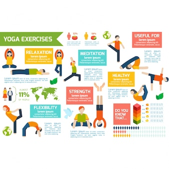 Infography about exercise