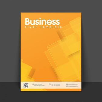 Information geometric report leaflet presentation