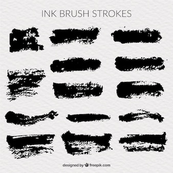 Ink brush pack