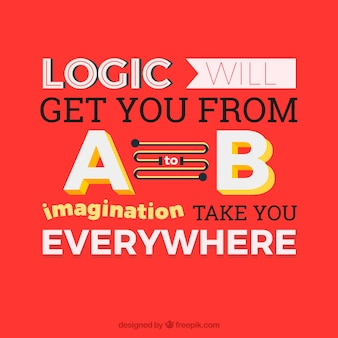 Inspirational quote about imagination