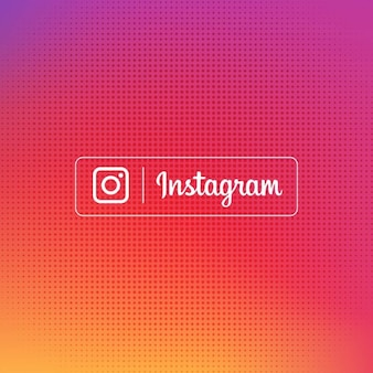 Instagram gradient background