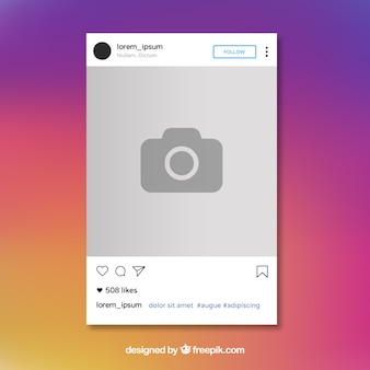 free instagram template - instagram vectors photos and psd files free download