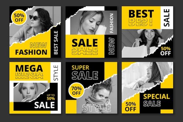 Instagram sale pack