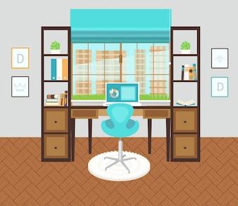Interior office area