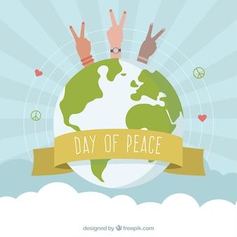 International peace day, symbols of peace around the world
