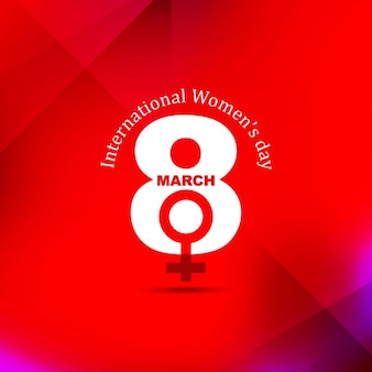 International Womens Day Celebration Background