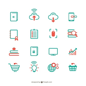 Internet icons collection