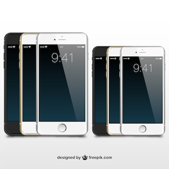 IPhones illustration vector