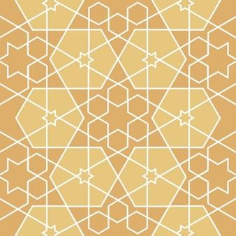 Islamic style seamless pattern