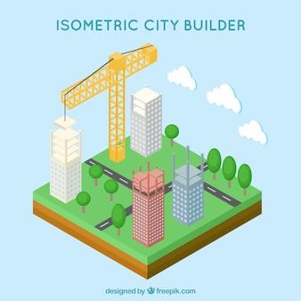 Isometric city builder