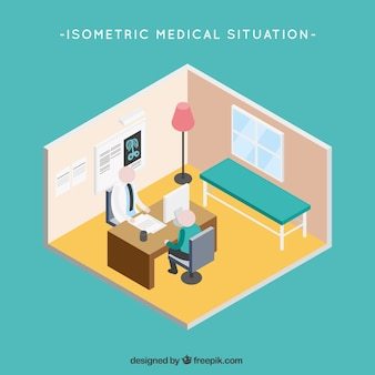 Isometric Medical Situation