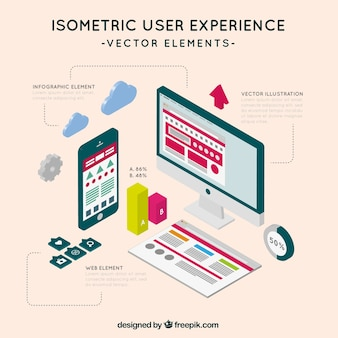 Isometric user experience pack