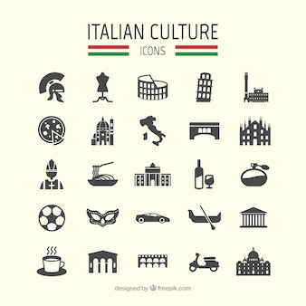 Italian culture icons
