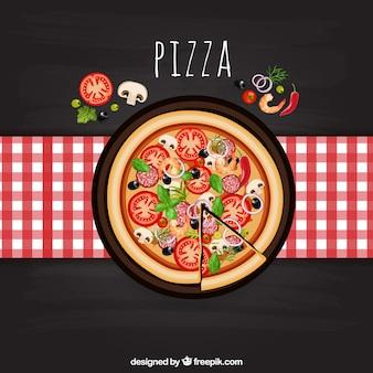 イタリアのピザ