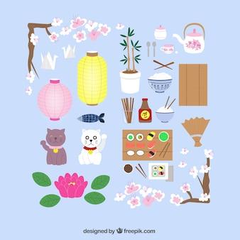 Japanese culture elements